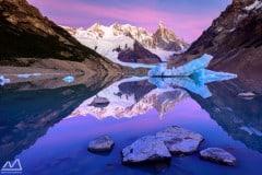 Cerre Torro mirror lake patagonia