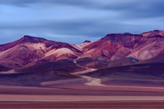 seven colored mountain altiplano solilo desert bolivia